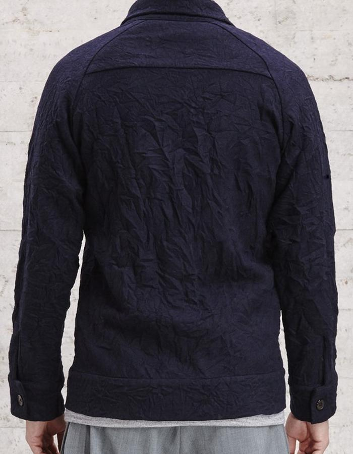 panelled wool blend jacket, £175