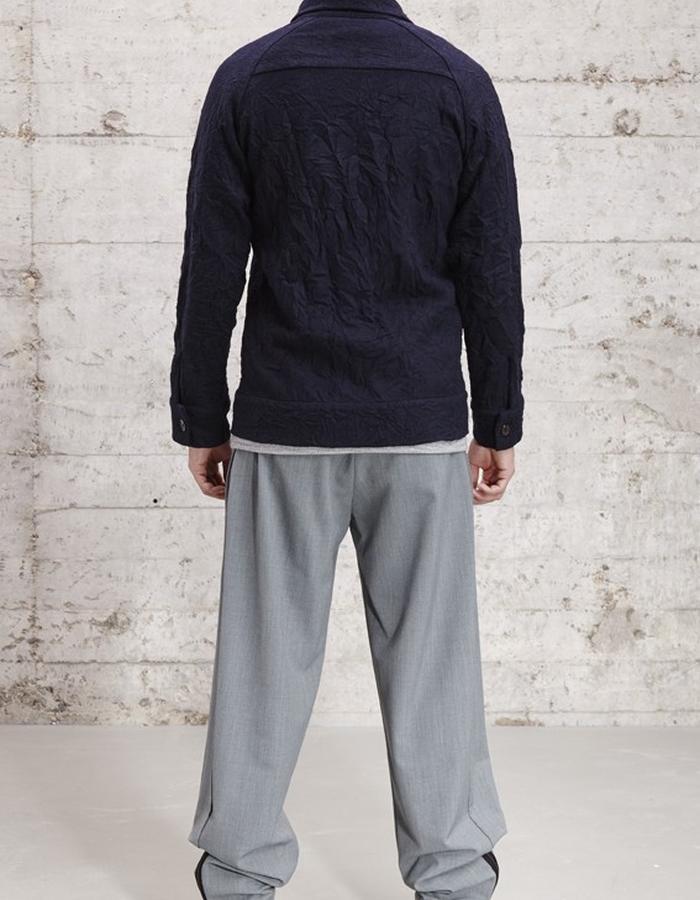 relaxed wool blend trouser, £165