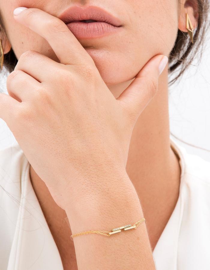 YAMA jewelry- My Other Half Bracelet