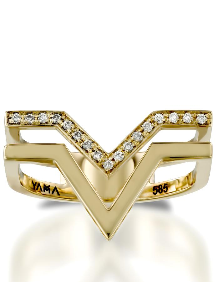 YAMA jewelry- Duette Ring