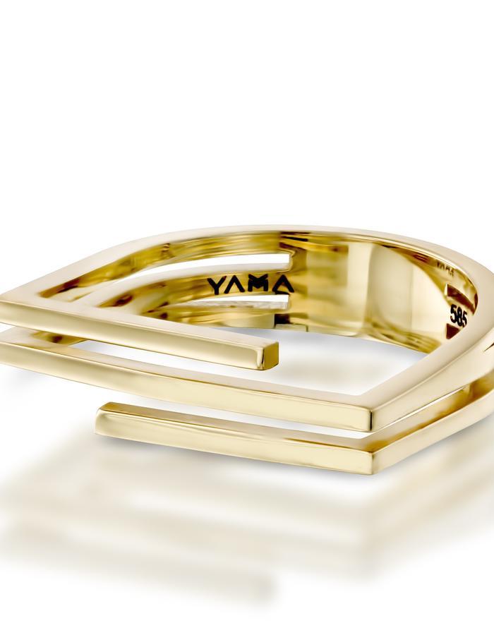 YAMA jewelry- My Other Half Ring