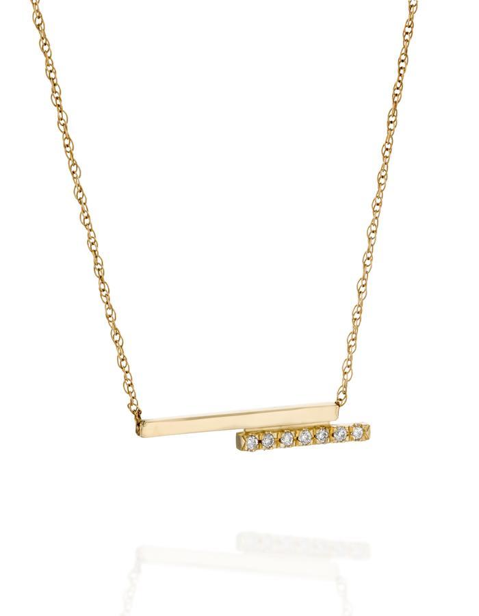 YAMA jewelry- My Other Half Necklace