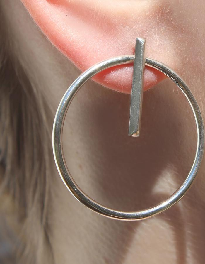 Substrate earring