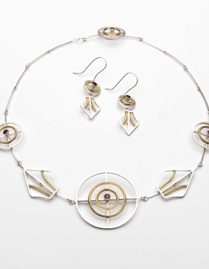 For Others Transformative luxury necklace and earrings
