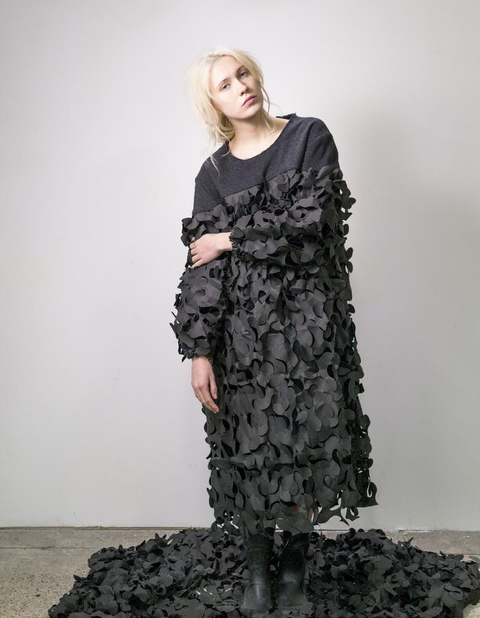 James Hock Camonet Dress
