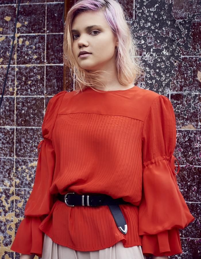 Byvarga AW16 Betty silk blouse
