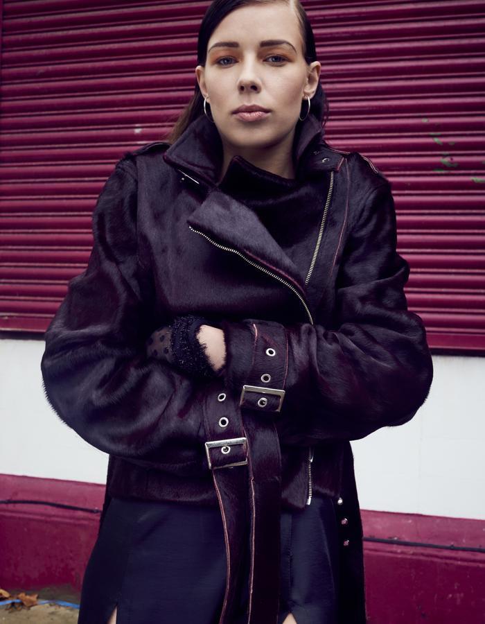 ByVarga AW16 Leather jacket