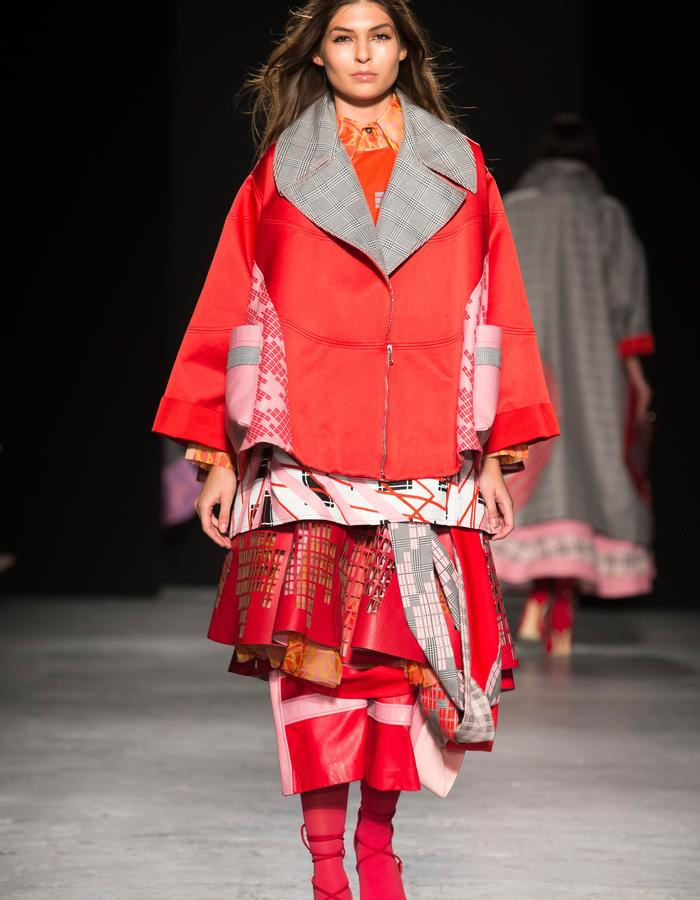 LOOK 4 FROM GRADUATE SHOW