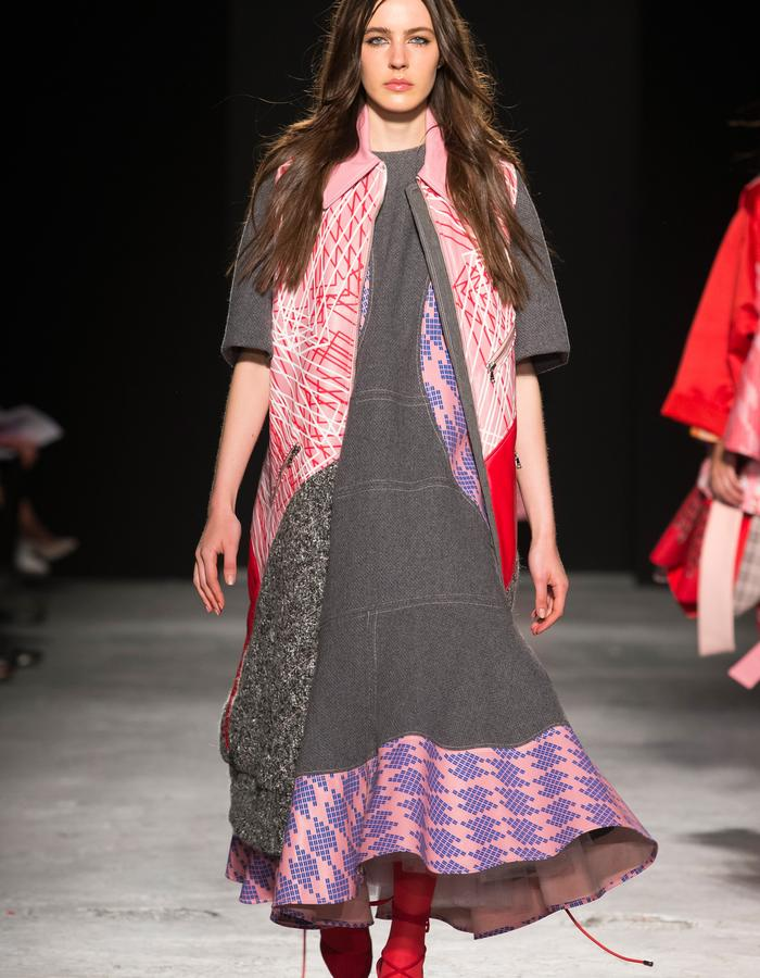 LOOK 5 FROM GRADUATE SHOW