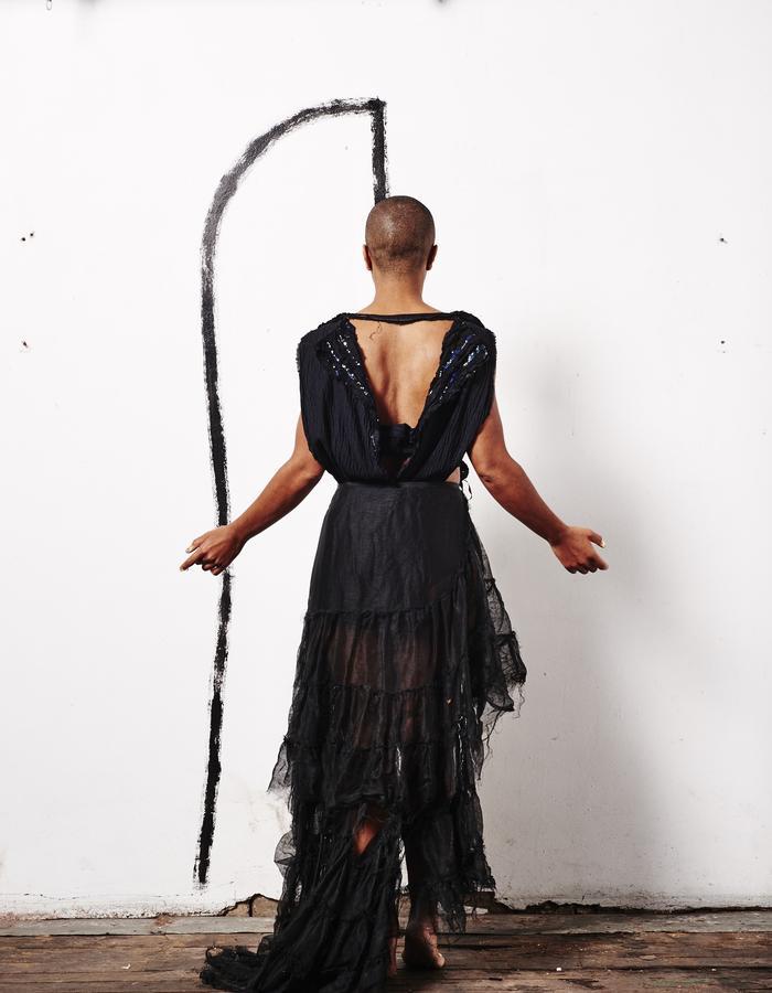ANGELA WHITE ||SATTVA DRESS || BLACK KRSNA BRIDE || COSTUME DESIGNER || @ANGELAWHITELOVESU