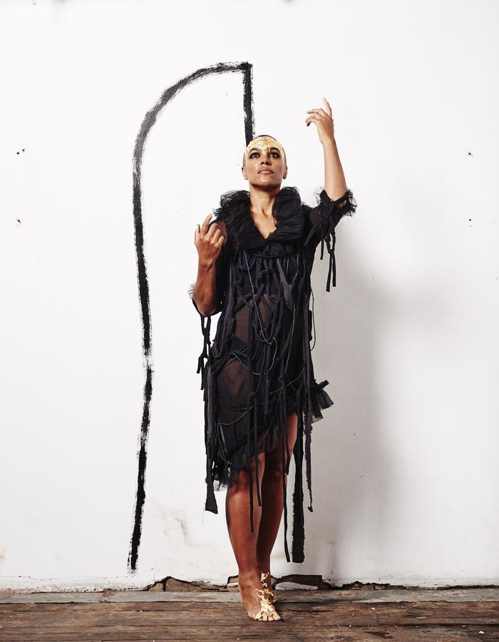 MARINA ROORDA || SATU DECON. TOP || SHEER FRAGILITY OF SEPARATION ||DESIGNER || @BERMUDABLACK _