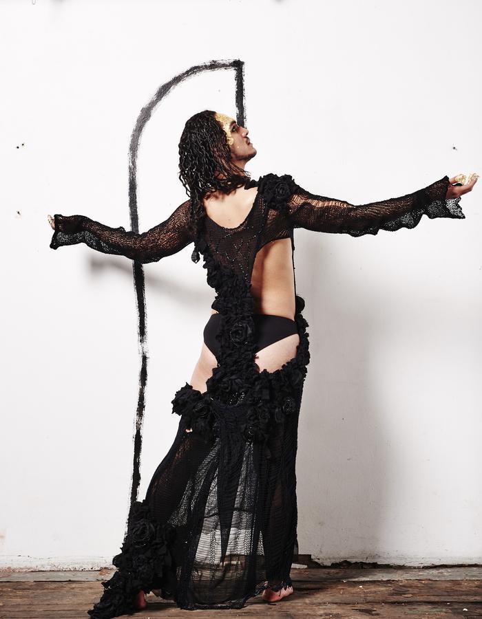 "TOMASZ SIERAKOWSKI ||VAYANA DRESS || HANMO DRESS""/繁茂ドレス || FASHION DESIGNER || @TMSZSRKWSKI"