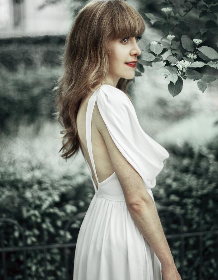 exclusive silk dress