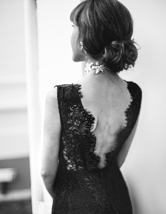 luxury elegant dress