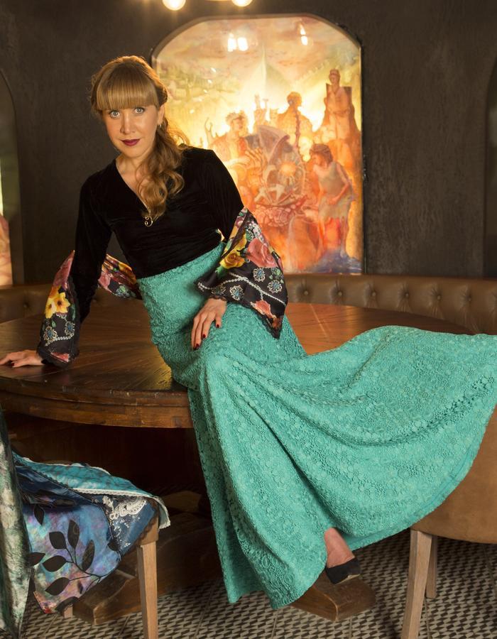 Luxury customized dress