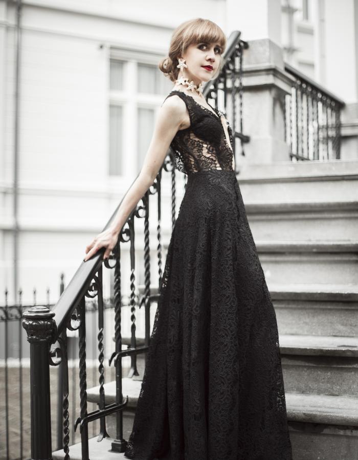 Exclusive customized luxury dress