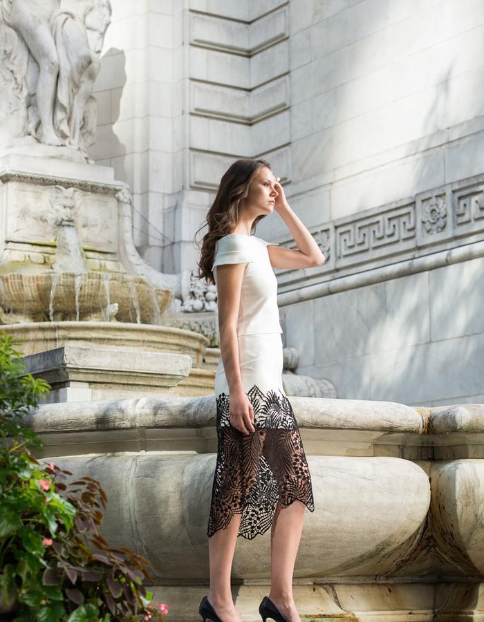 Minan Wong Fern Skirt