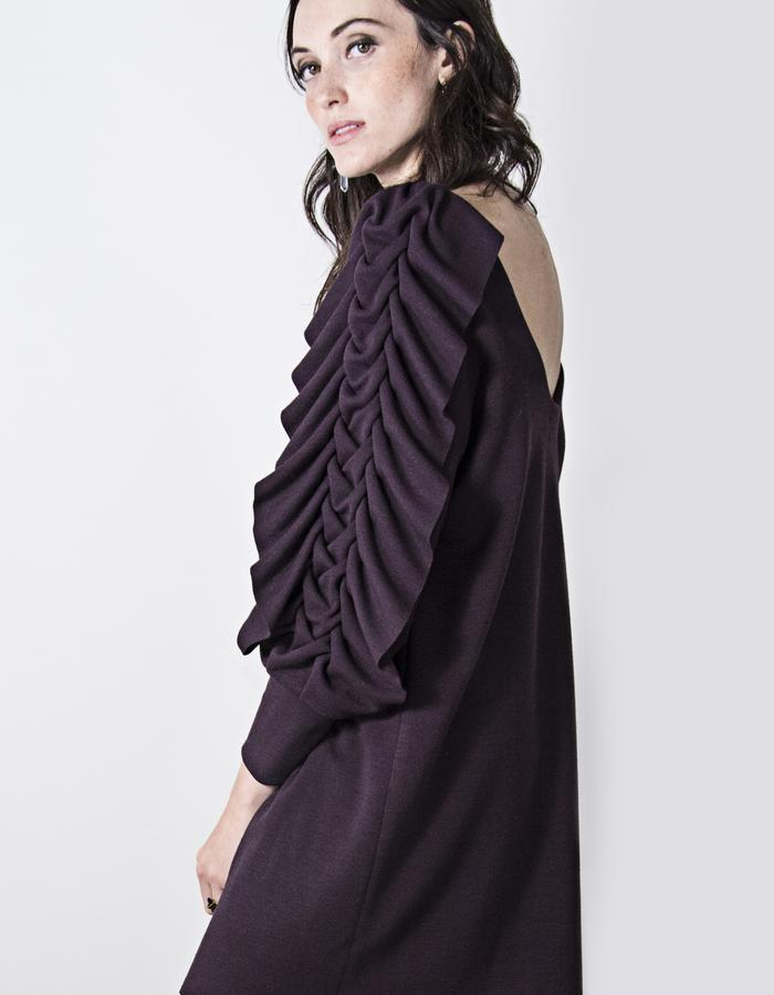 Patricia Ruffle Knit Dress