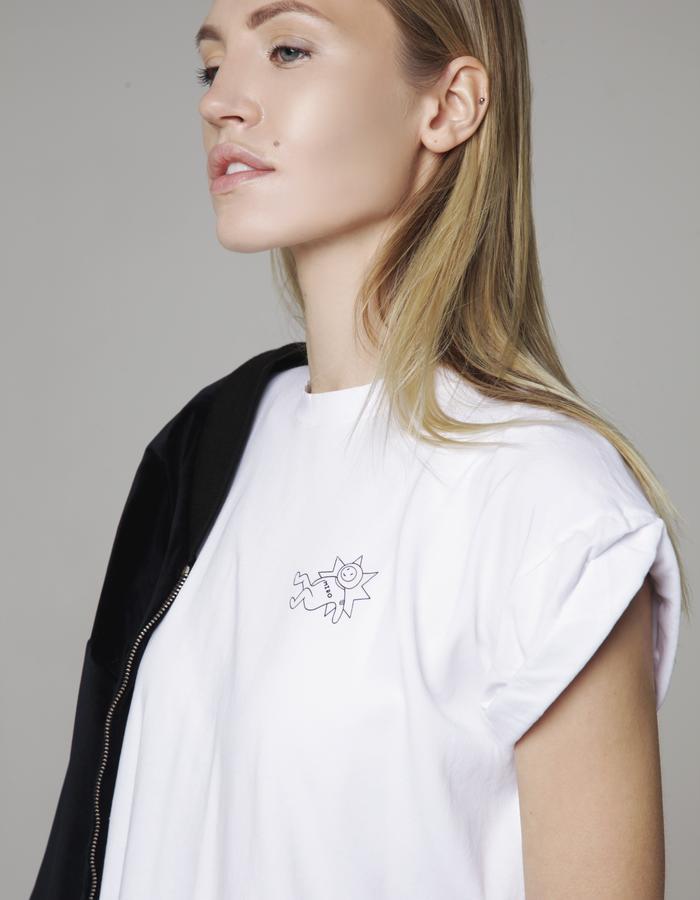 MIRO short bomber, t-shirt
