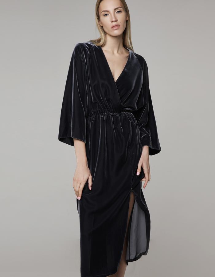 MIRO velvet dress