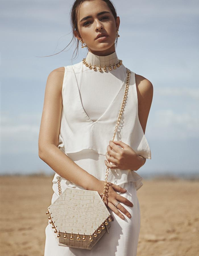 Mini Hexa Bag / Ballen Pellettiere / Lucy Vives / Colombia