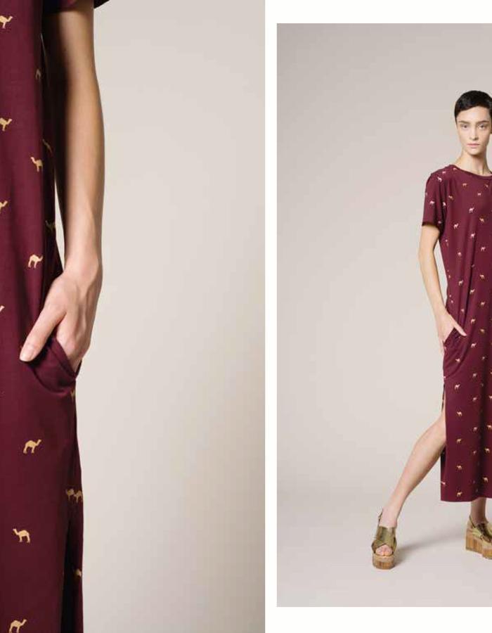 Vender camel dress