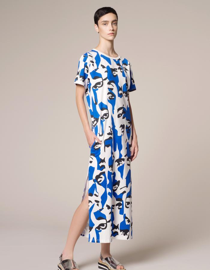 Vender black&blue dress