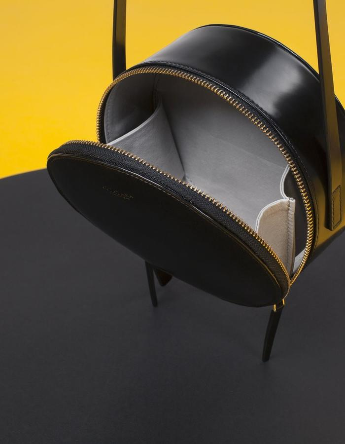 Naoshima | Round Bag | Black