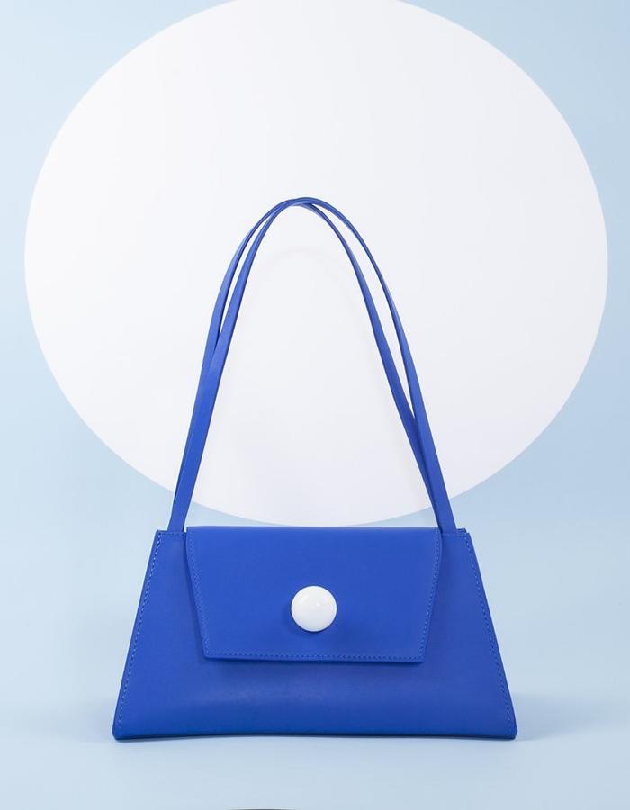 Naoshima | Triangle Bag | Yves Klein Blue