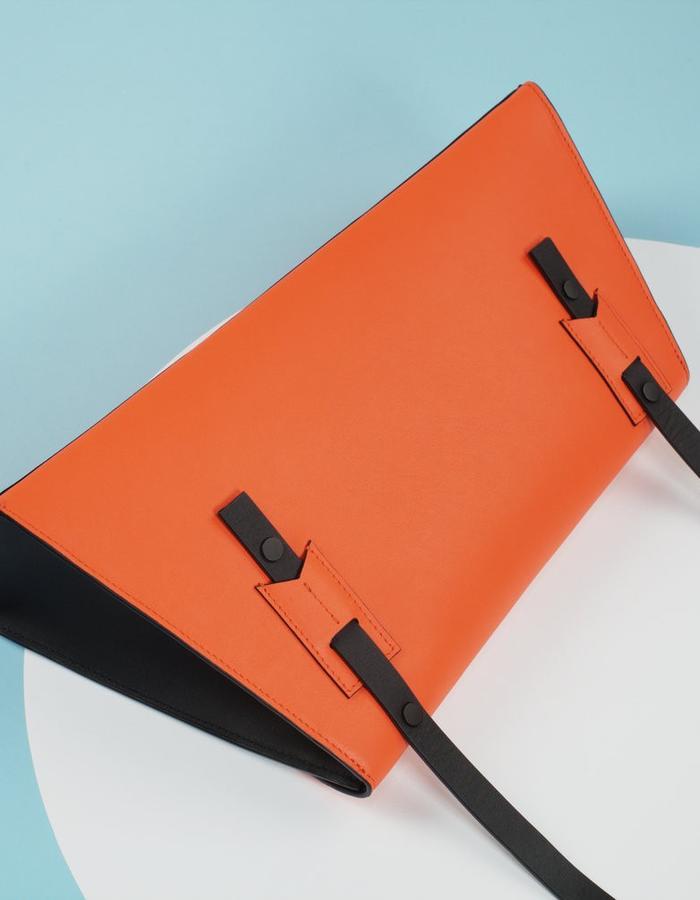 Naoshima | Asymmetrical Bag | Orange