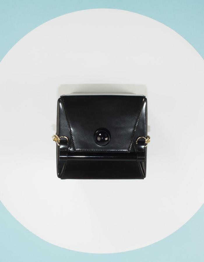 Naoshima | Cube Bag | Black