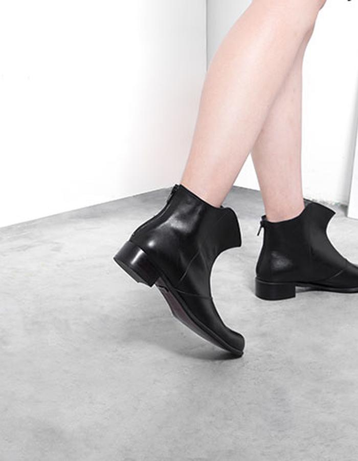 shadow boot, black, ankle boot, designer label