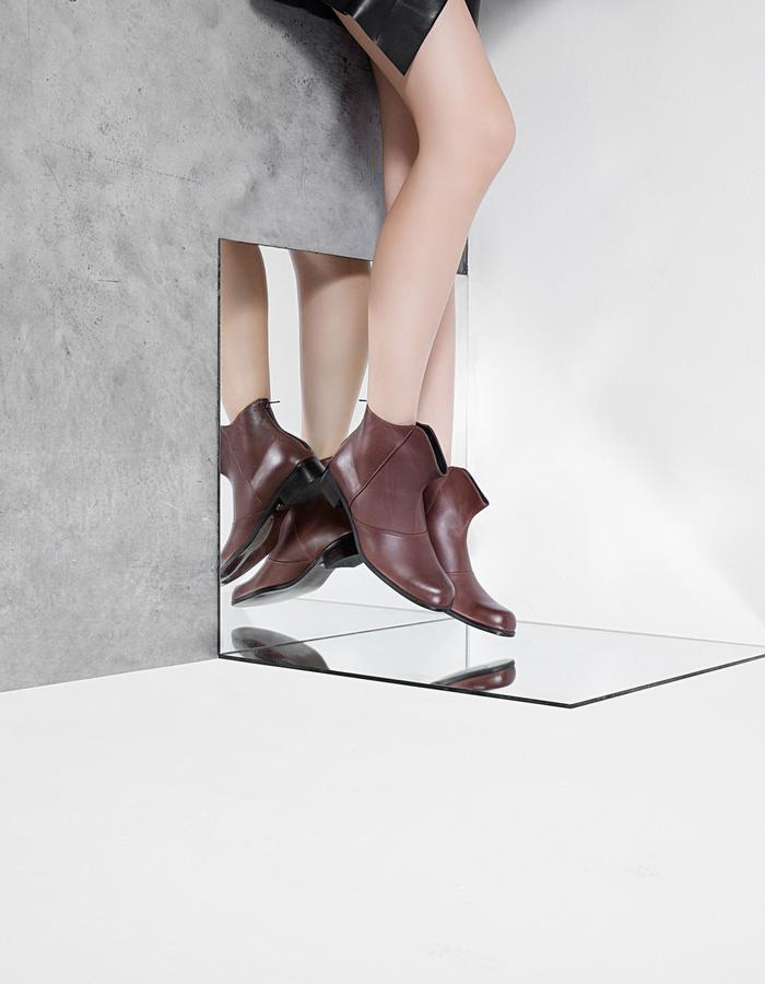 ankle boot, design boot, shadow