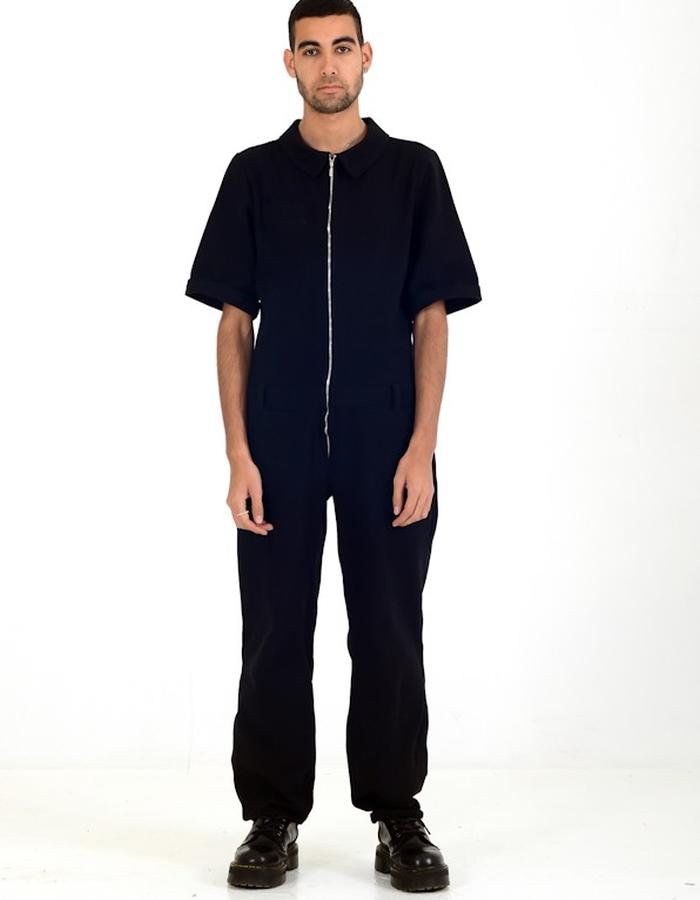 Utility Short Sleeve Coverall