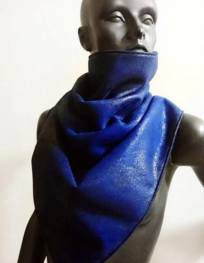 Indigo Blue Sparkling SCARF