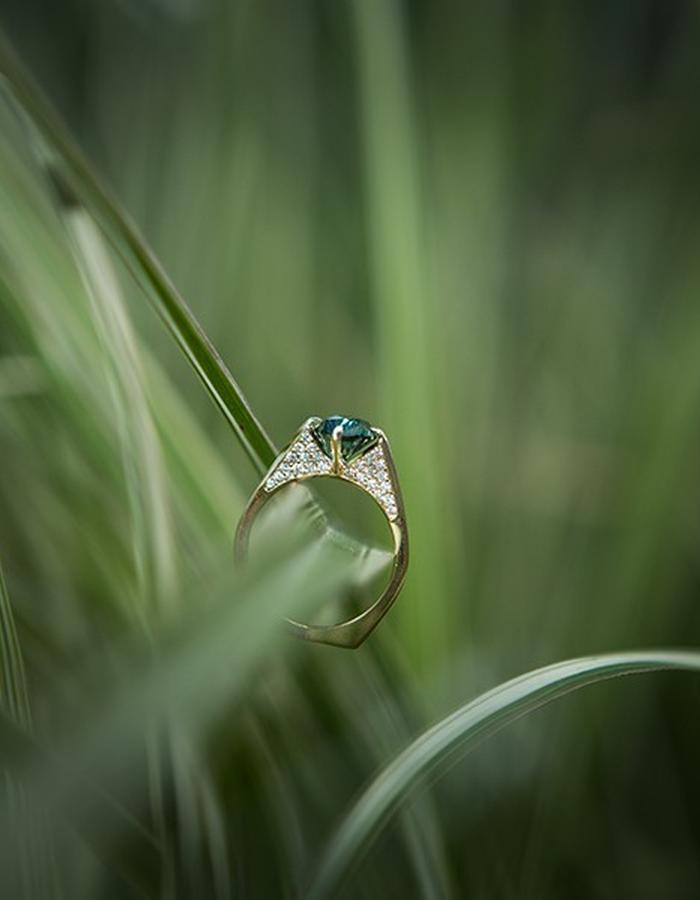 Minimalist Ring - shot by Keziban Berry