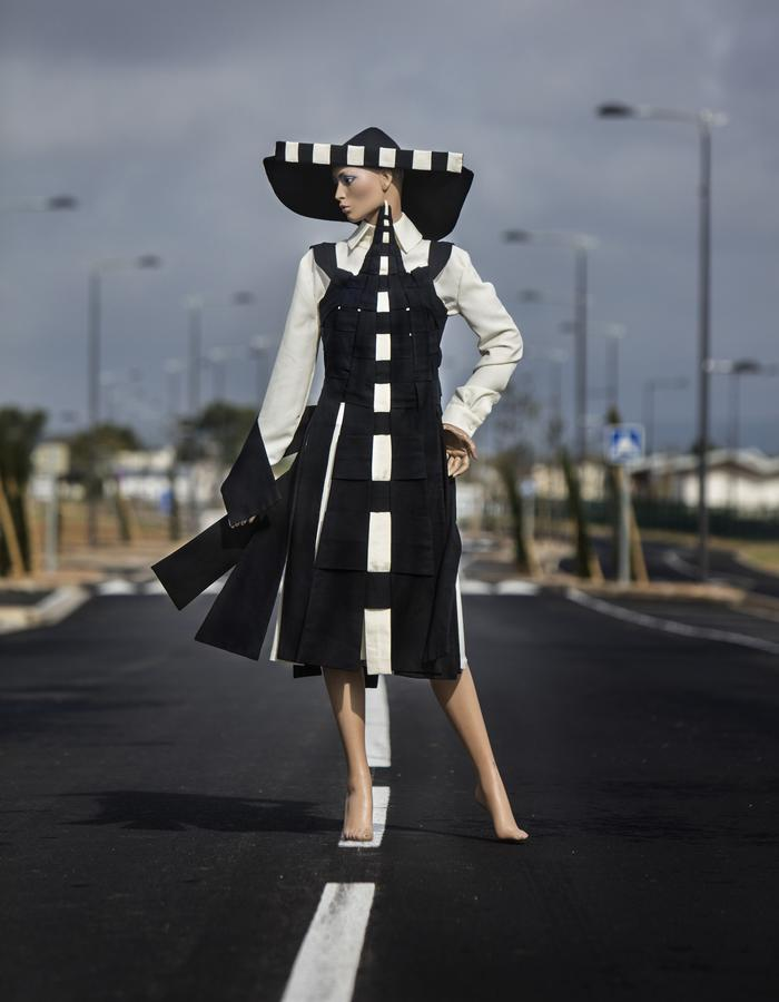 Fashion Lagrasse, made in France, woven landscapes and sceneries, Eppo, Fashion Designer, stylist,Languedoc-Roussillon