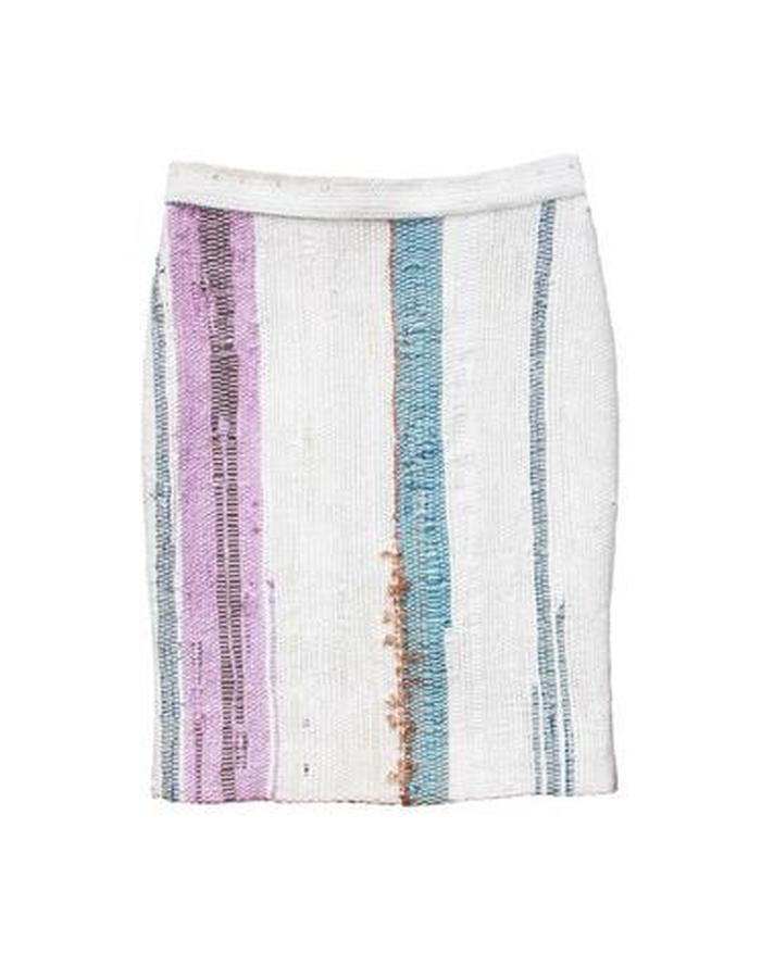 ONE OF A KIND HAND WOVEN SKIRT