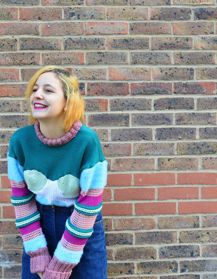Craft Knitwear, boob sweater