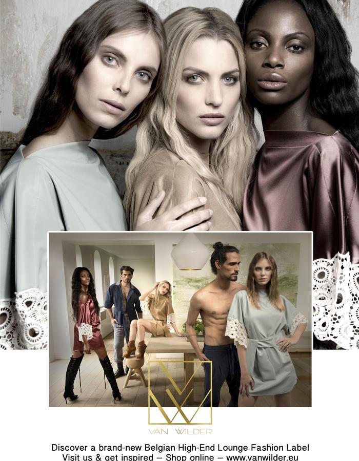 VAN WILDER - A brand-new Belgian High-End Lounge Fashion Label | www.vanwilder.eu