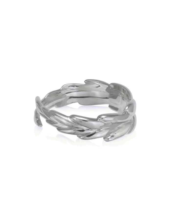 Silver Wreath Ring
