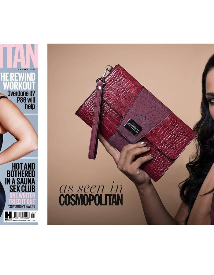 LUCKYNELLY IN COSMOPOLITAN UK PRINT ISSUE JANUARY/17