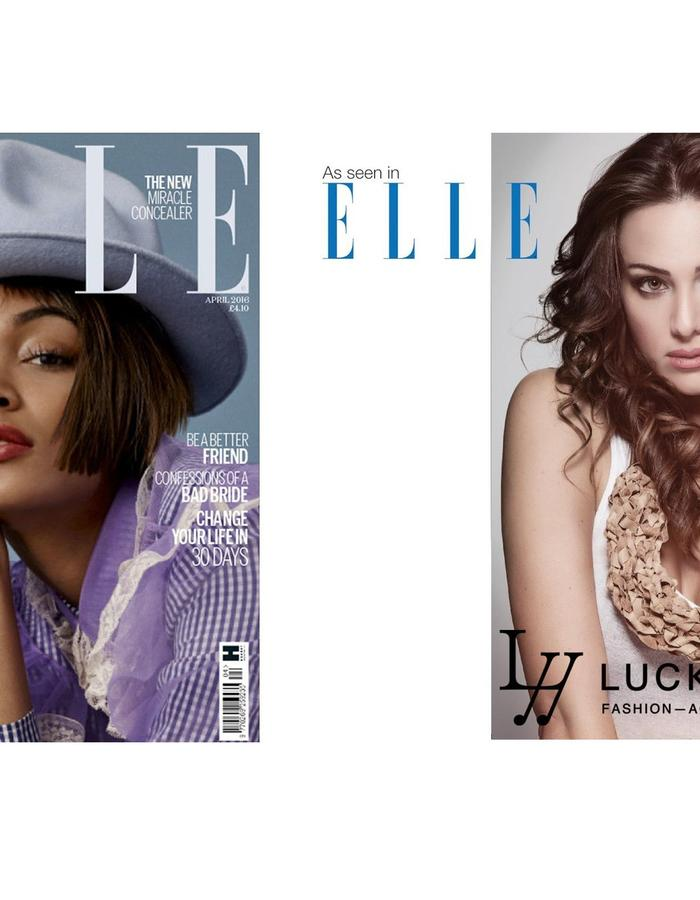 LUCKYNELLY IN ELLE UK PRINT ISSUE APRIL/16