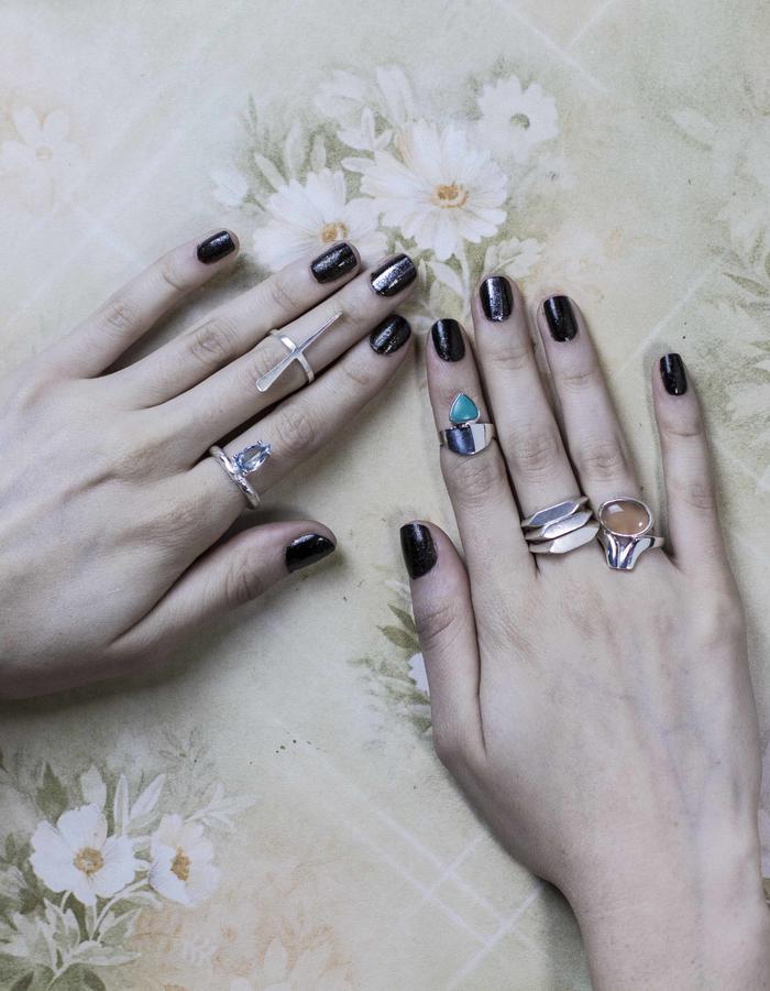 Elha´s Organic Geometry Rings