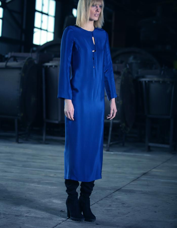 silk dress #karakusi #silkdress