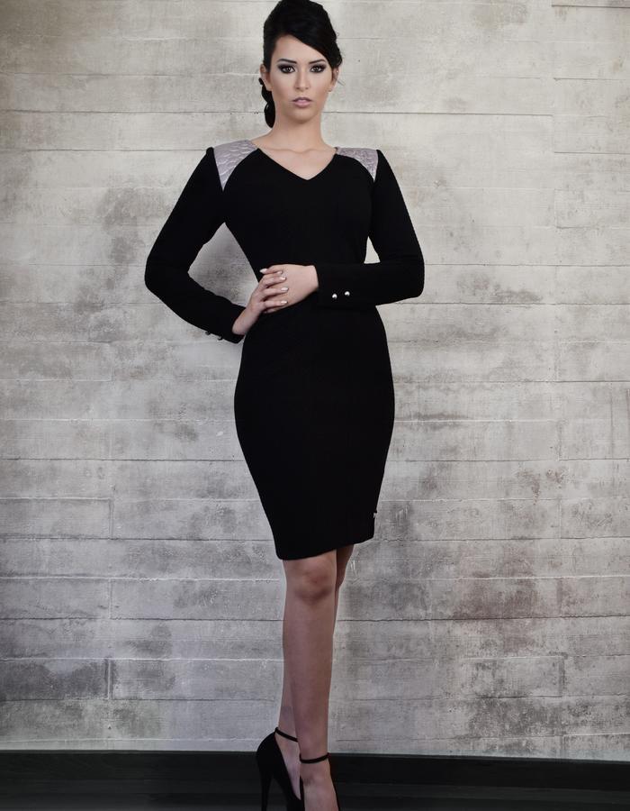 Sheath dress with sleaves