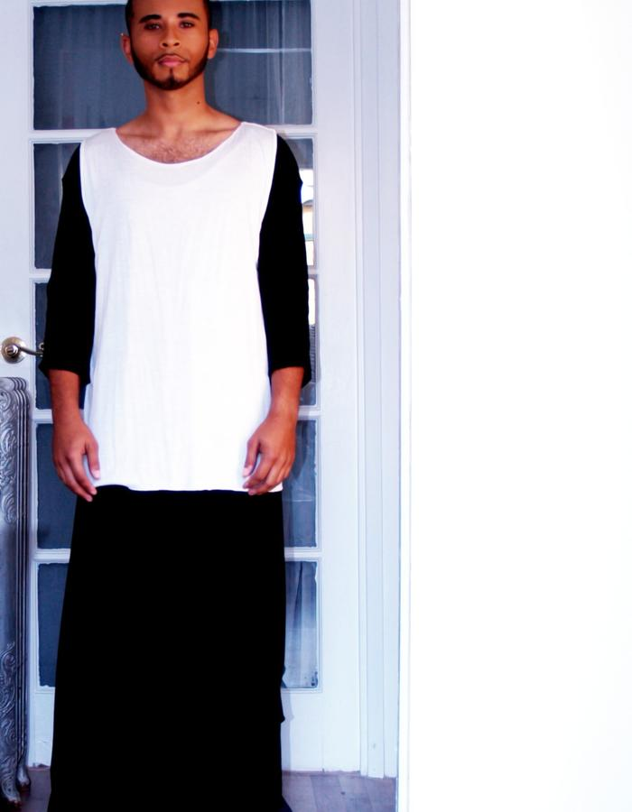Layers, White and Black
