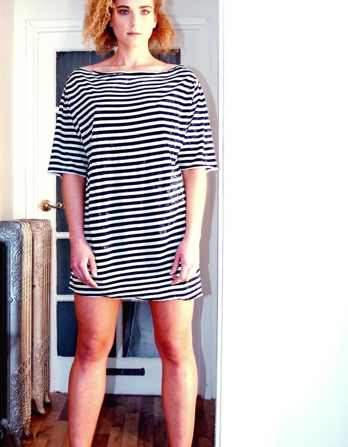 Unisex Vintage Stripe