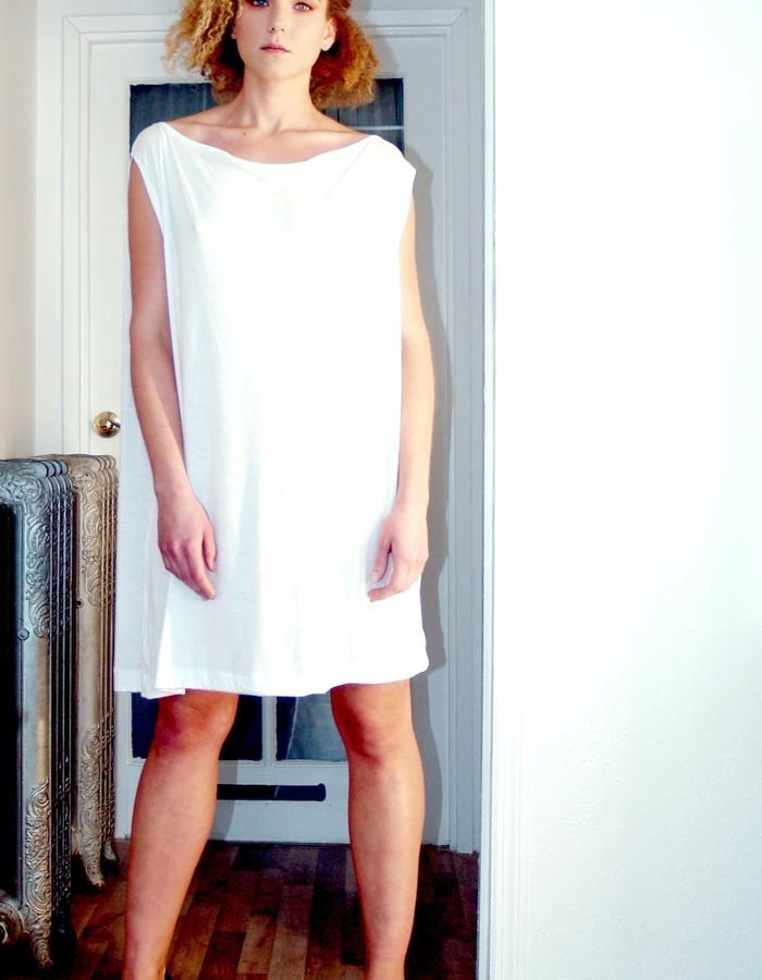White Flowing Tunic
