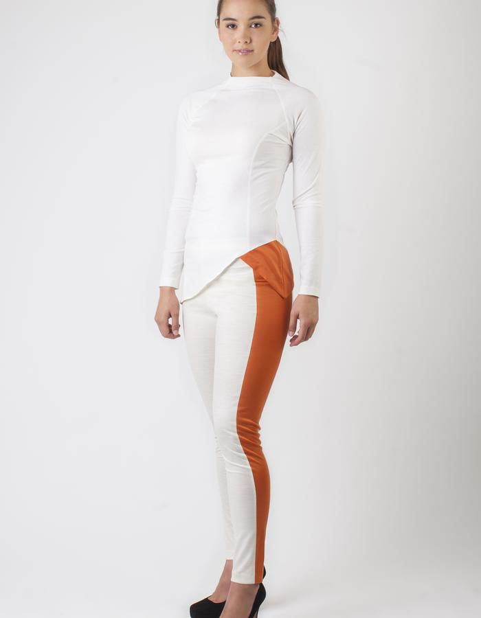 TRANSIT MERINO TOP and TWO-TONE LUXE LEGGING